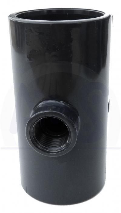 poolheizung entleerungsset entleerhahn d 50 mm solarheizung pvc rohr entleerung ebay. Black Bedroom Furniture Sets. Home Design Ideas