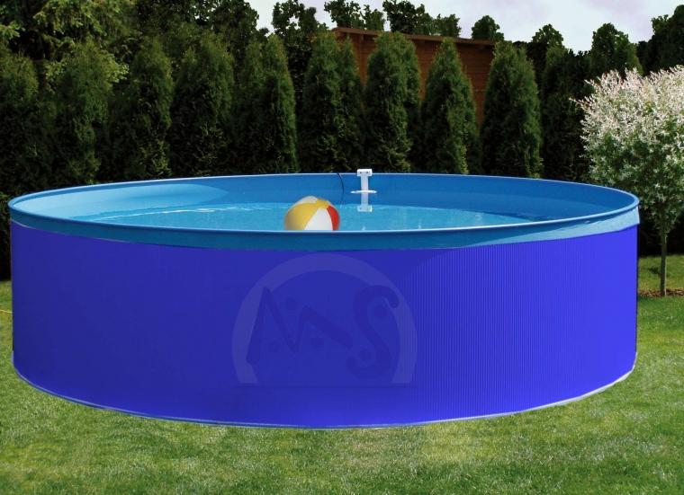 schwimmbecken rund set 3 60 x 0 90 m filteranlage stahlwandbecken pool swimming ebay. Black Bedroom Furniture Sets. Home Design Ideas