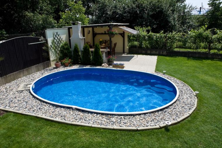 Stahlwandbecken 7 30 x3 70 x1 20m oval pool swimmingpool for Stahlwandbecken holzoptik