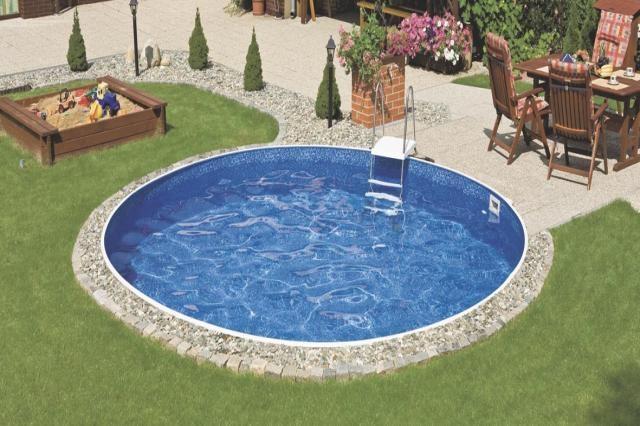 Innenfolie marmoriert poolfolie ersatzfolie innenh lle for Pool rund 3m