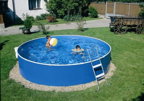 schwimmbecken set 2 40 m x 0 90 m kartuschenfilter leiter folie stahlwandpool ebay. Black Bedroom Furniture Sets. Home Design Ideas