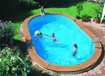 komplettset langform pool 3 00 x 6 15 x 1 50. Black Bedroom Furniture Sets. Home Design Ideas