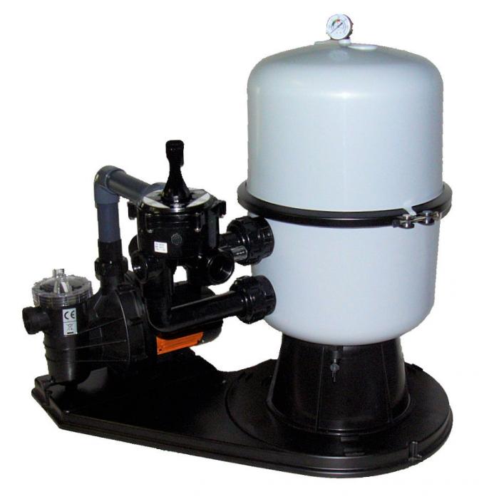 sandfilter filteranlage sandfilteranlage ms 400 pool ebay. Black Bedroom Furniture Sets. Home Design Ideas