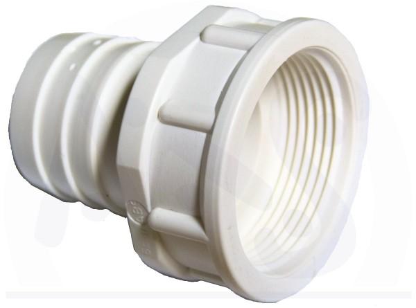 Schlauchtülle mit Innengewinde 1 1/2 Zoll x 38 mm