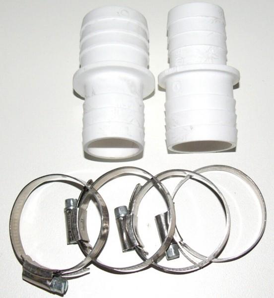 Schlauchverbinder Set 38 / 32 mm