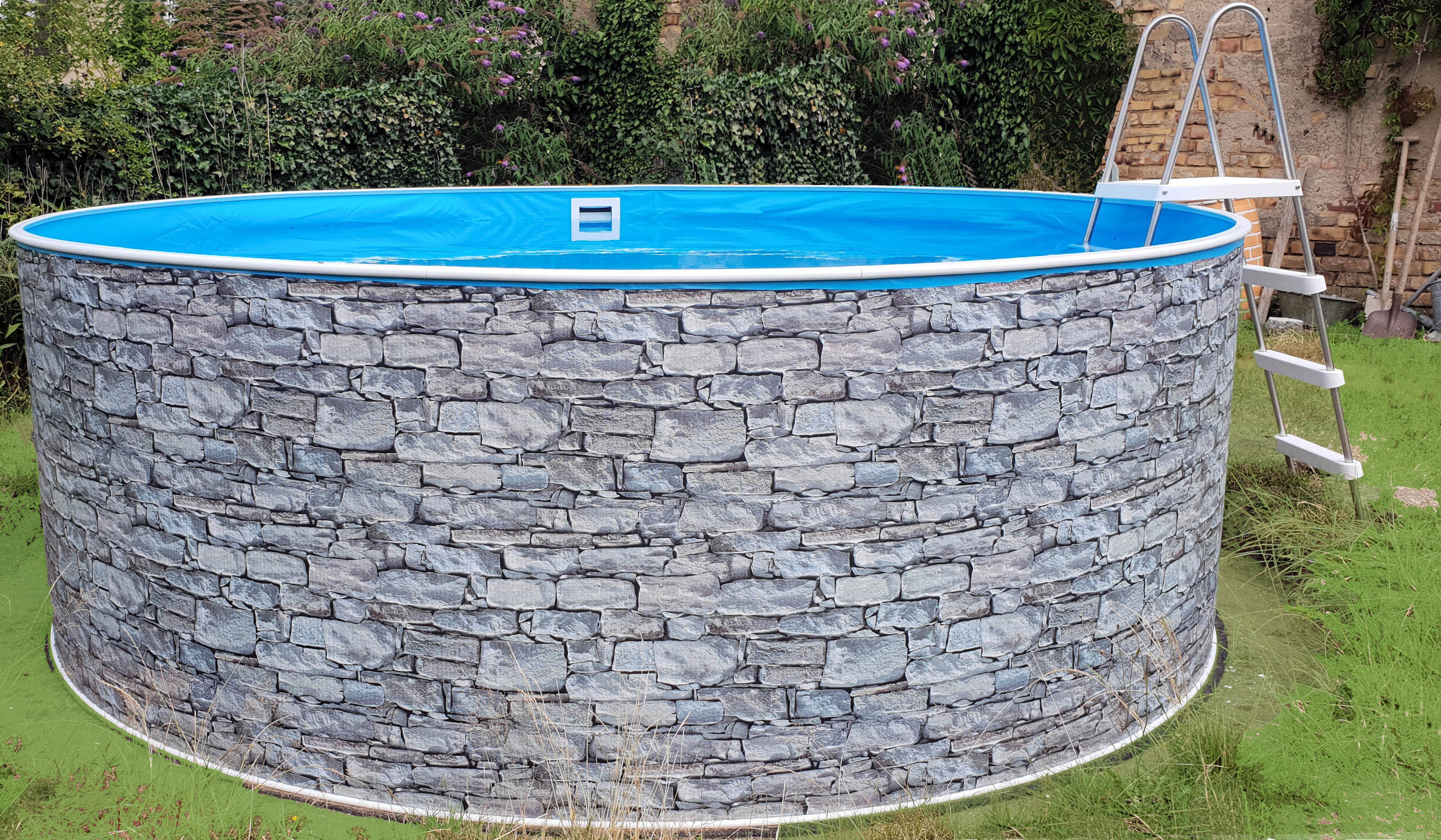 Turbo Swimmingpool, Swimmingpools, Pool, Pools, Rundbecken, Ovalbecken ZI08