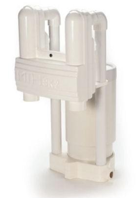 Einhängeskimmer SK 2 mit Filtrerinnenteil verklebt