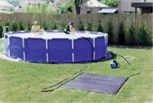 Solaranlage für Aufstellbecken bis 25 m³