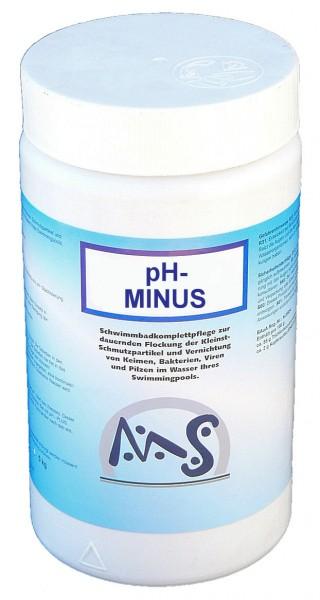 pH Minus 1,5 kg Dose Senker