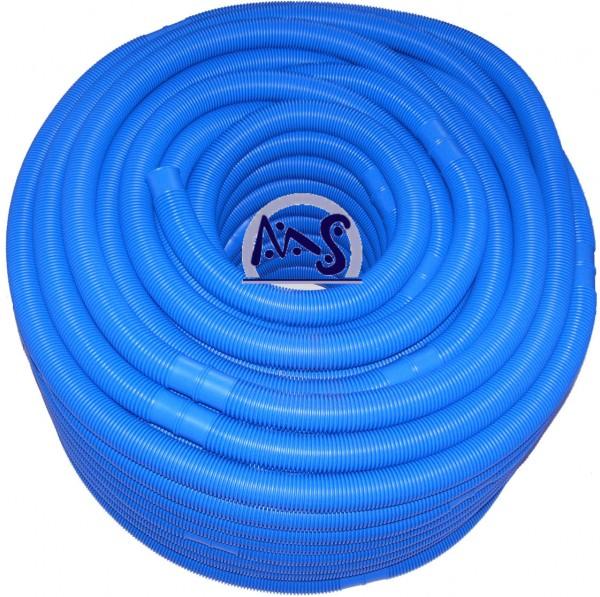 Schwimmbadschlauch blau 50 m Rolle NW 32 mm