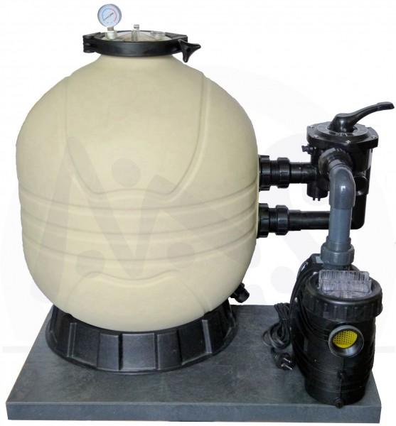 Sandfilteranlage Prima 400 BV mit Speck Pumpe 6 m³