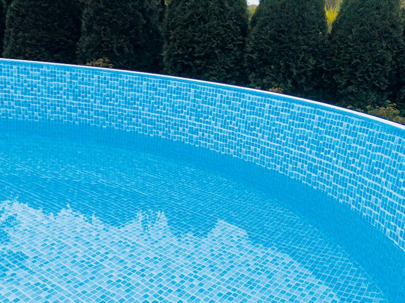 4,60 x 1,10 Poolauskleidung Innenfolie Mosaik Innenhülle Poolfolie Ersatzfolie