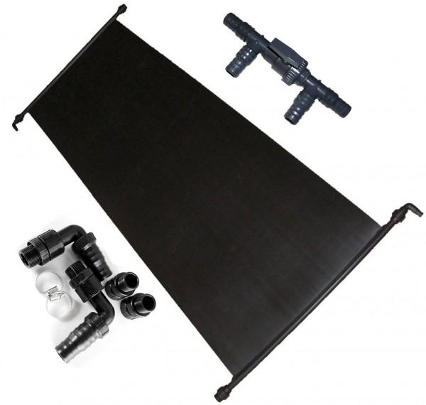 Solarabsorber 1,20 m x 4,50 m inkl.Solarventil