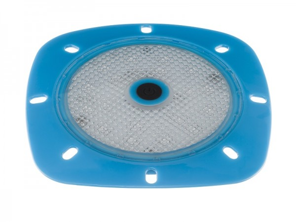LED-Magnet-Scheinwerfer weiß mit 18 LEDs RGB