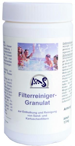Sandfilter Reinigungsmittel 1,5kg