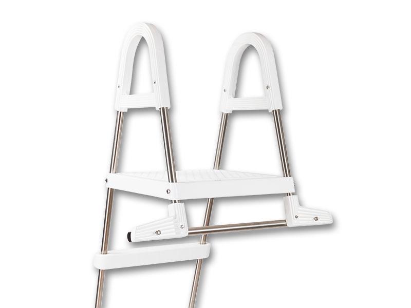 poolleiter pool bis 110 oder 120 cm leiter f r. Black Bedroom Furniture Sets. Home Design Ideas