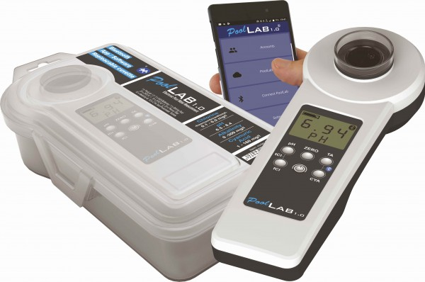 Pool Lab 1.0 Photometer Elektronisches Wassertestgerät