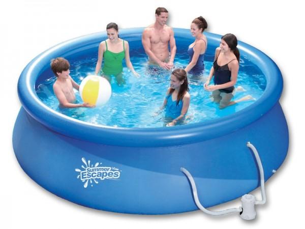 Quick Up Pool Set 305 x 76 cm mit Kartuschenfilter