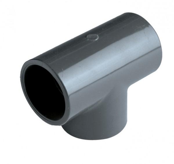 T-Stück PVC 90° D 50 mm