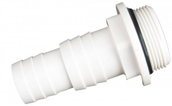 Schlauchtülle 38/32 mm mit O Ring