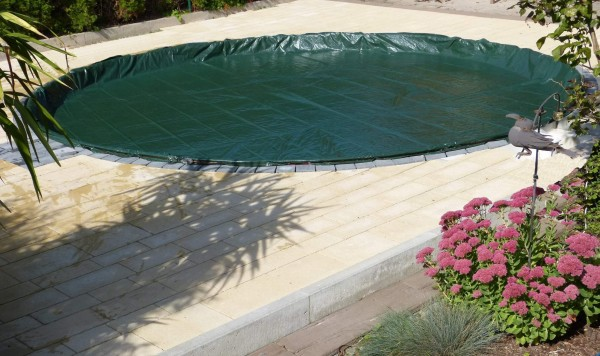 Winter und Sommerabdeckung für Pool bis Ø 6,40 m