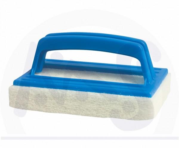 Handbürste zum Randreinigen mit Schwamm