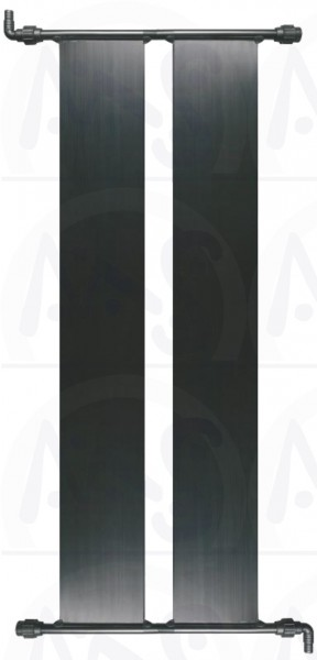 2 Stück Poolheizung Solarabsorber 0,60 m x 6,00 m