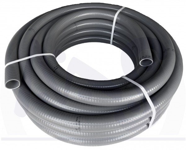 Flexibles PVC Rohr Rollenlänge 12 m