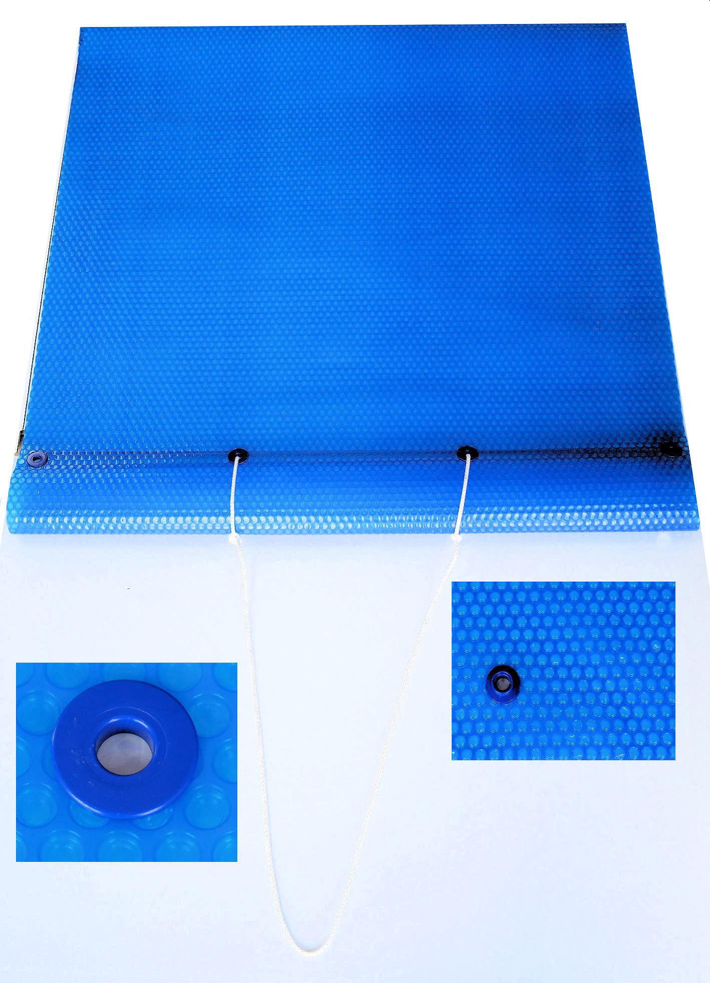 Solarfolie mit Ösen
