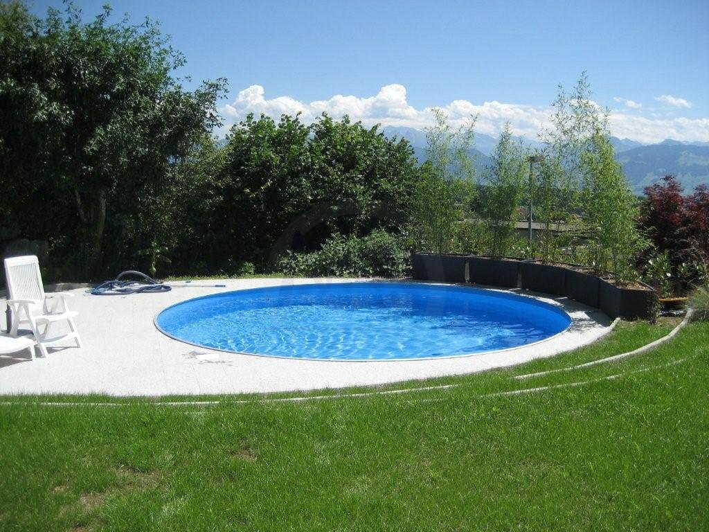 Swimmingpool swimmingpools pool pools rundbecken ovalbecken achtformbecken rechteckbecken - Swimming pool stahlwand ...