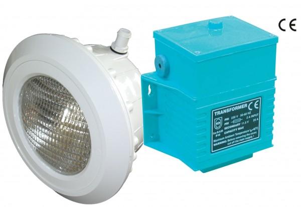 LED Poolscheinwerfer für Folie mit Trafo