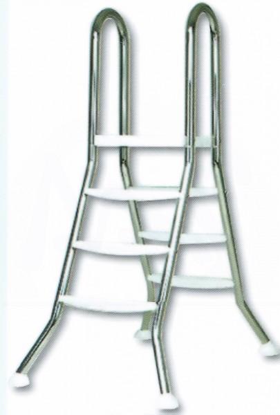 Hochbeckenleiter V2A /4 Stufen