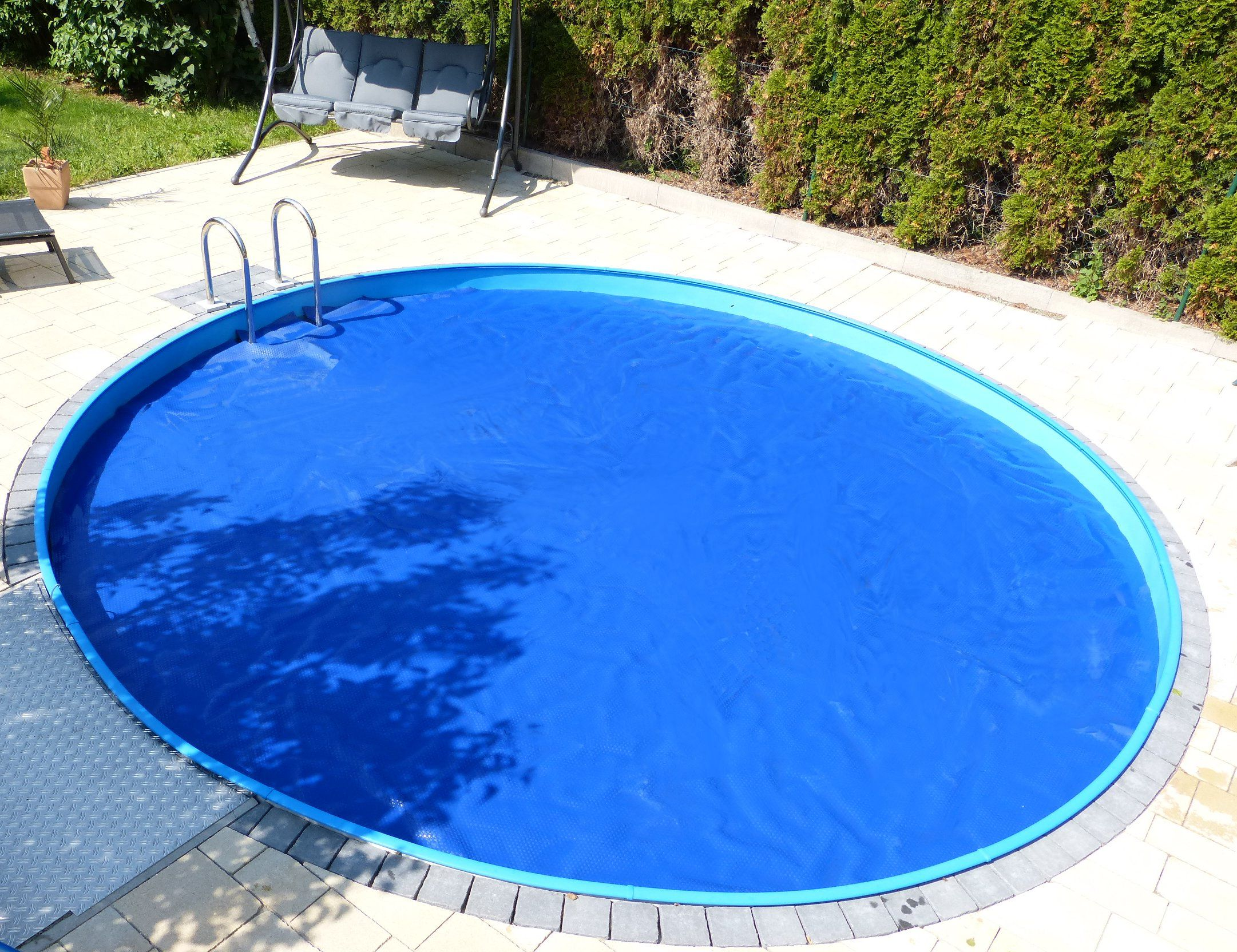 Solarfolie poolfolie solarabdeckung pool m rund for Pool rund 3 60