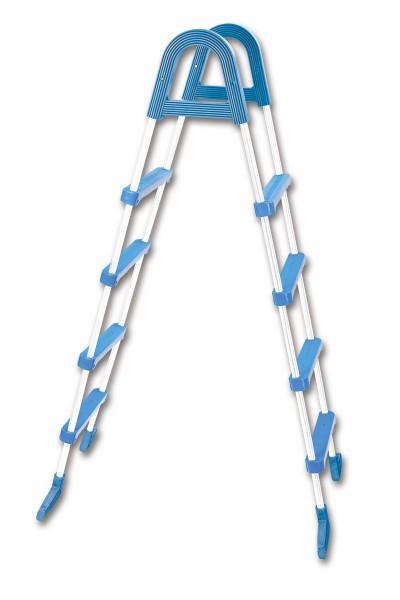 Aufstellleiter 4 Stufen für Pools bis 122 cm