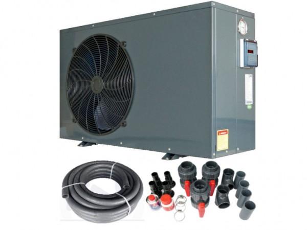 MQ 4 Wärmepumpe 3,5 kW mit Verrohrungs-Set