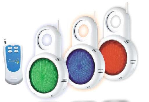 LED Scheinwerfer für die Einlaufdüse