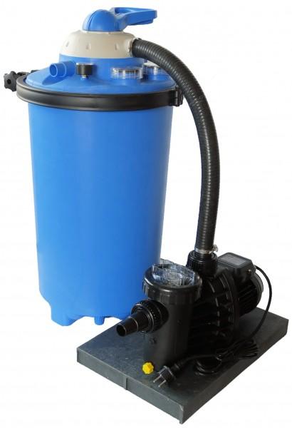 Sandfilter BlueClear 1075 mit Speck Pumpe 6 m³