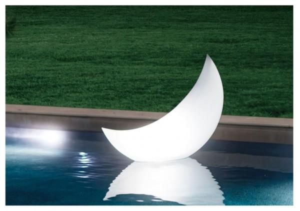 LED-Leuchte schwimmender Halbmond