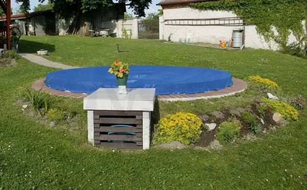 Poolplane blau für Pool bis Ø 3,60 m