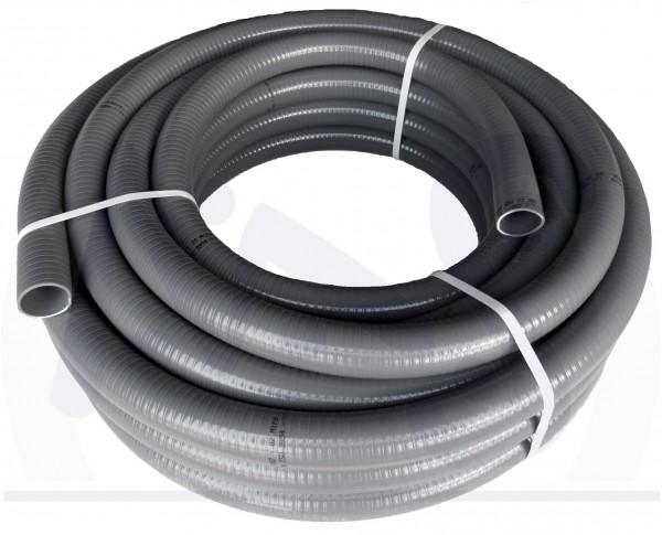 """3//4"""" Flexibler PVC-Saugschlauch 19 mm 25 lfm Spiralschlauch Förderschlauch"""
