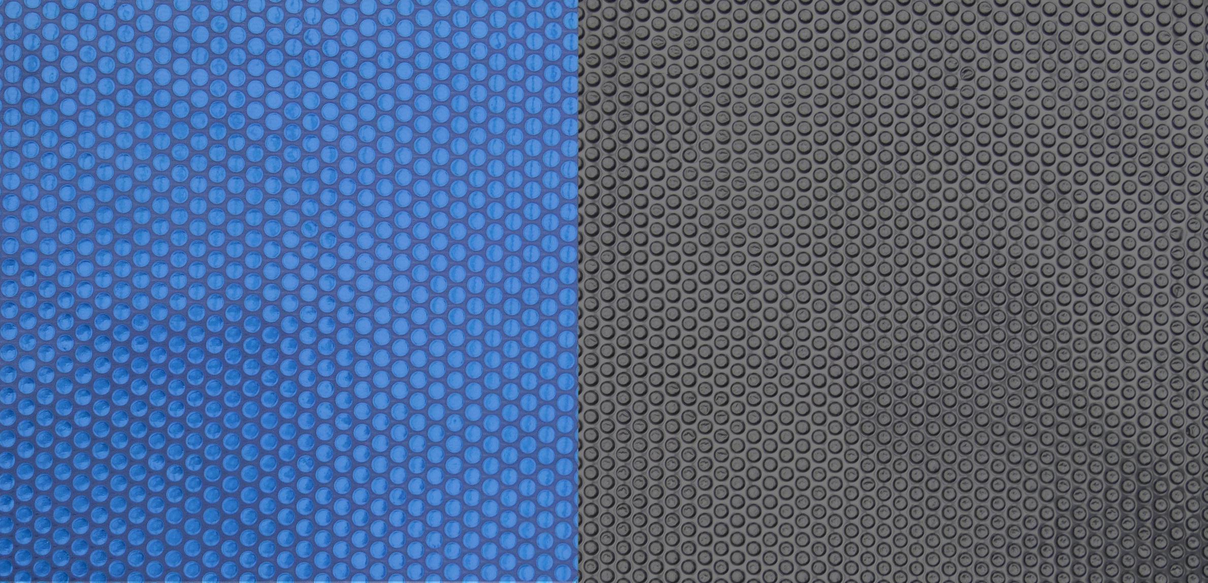 Solarfolie 9 00 x 5 00 m poolfolie 400 m schwarz blau for Poolfolie blau
