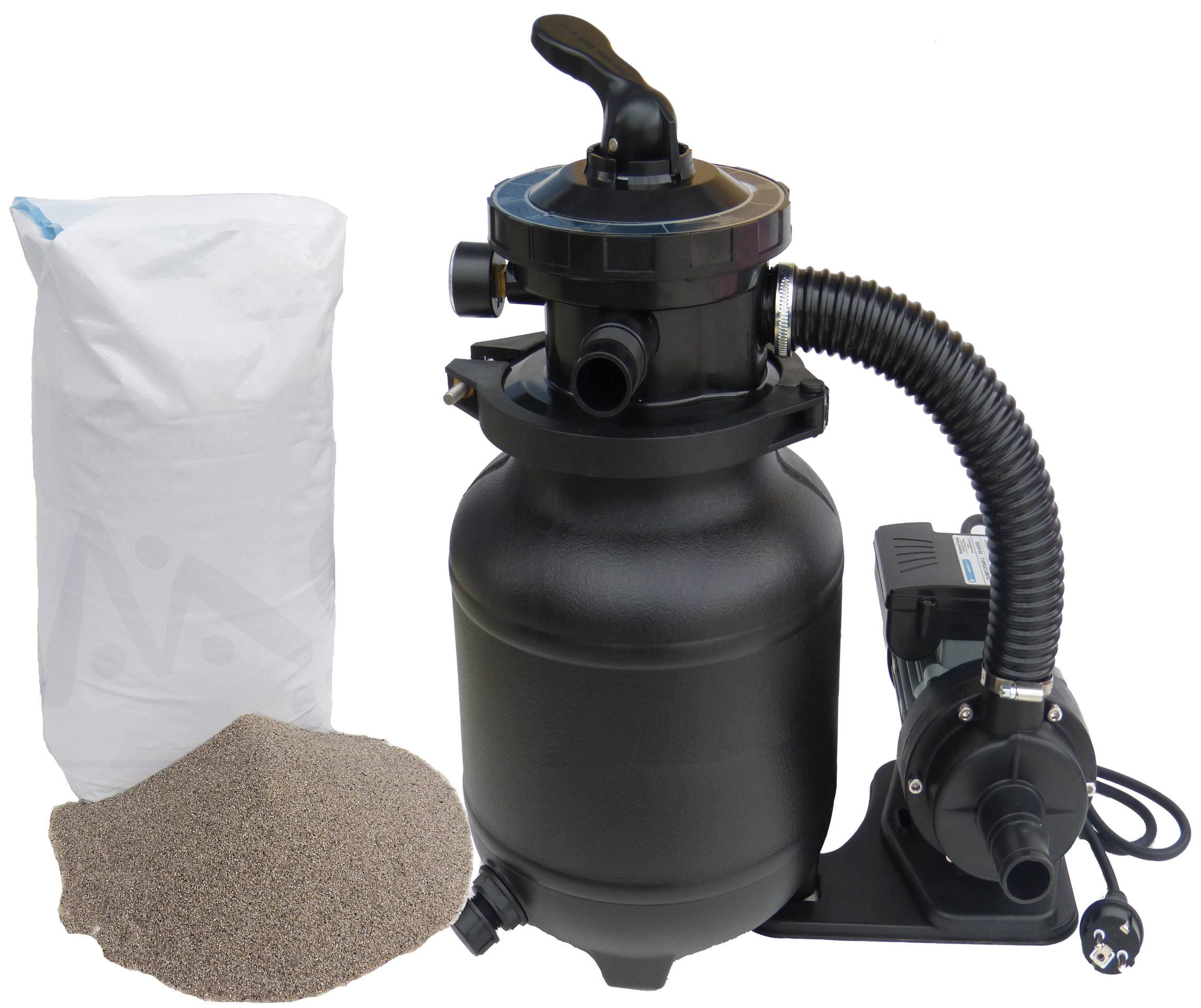 sandfilteranlage poolfilter 6500 sandfilter inkl 25 kg. Black Bedroom Furniture Sets. Home Design Ideas
