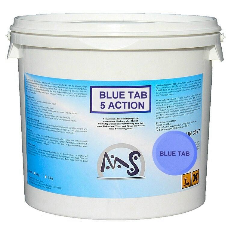 BLUE TAB 5 ACTION ® 10 kg   Chlor Produkte   Wasserpflege   Shop28
